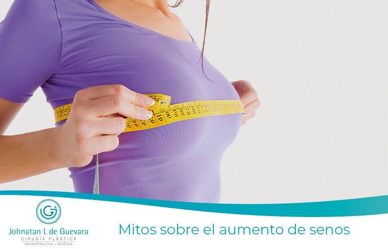 Mitos sobre el aumento de senos