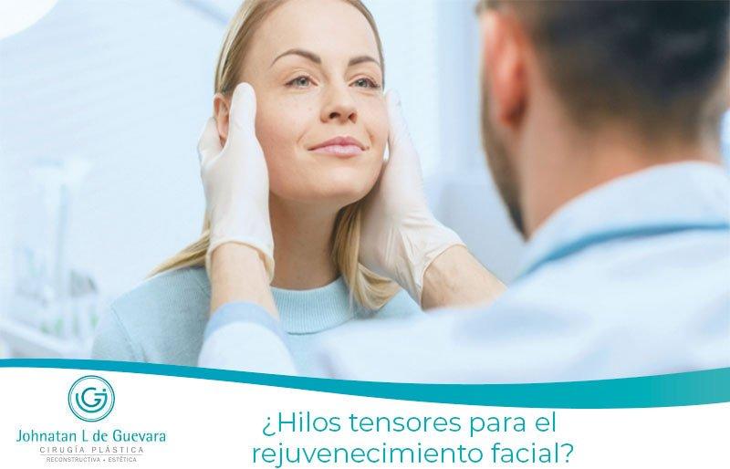 ¿Hilos tensores para el rejuvenecimiento facial?